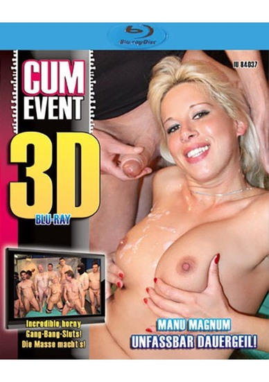 Cum Event: Unfassbar Dauergeil - True Stereoscopic 3D Blu-ray Disc