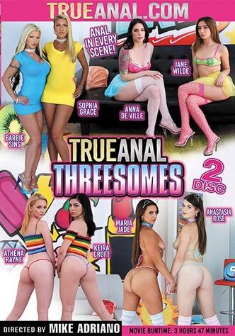 True Anal Threesomes - 2 Disc Set
