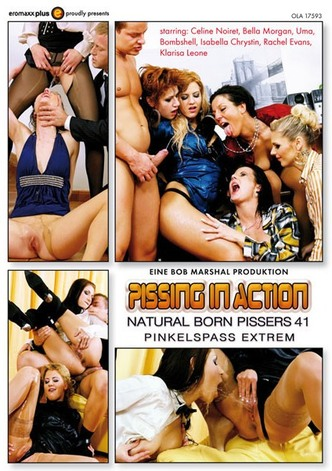 Pissing In Action - Natural Born Pissers 41