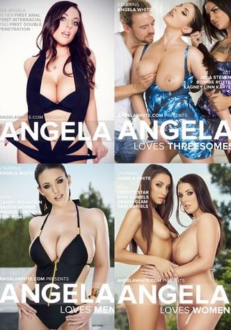 Angela White 4-Pack - 4 DVD Set