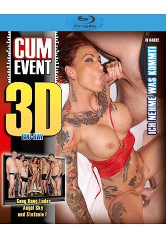 Cum Event: Ich nehme was kommt! - True Stereoscopic 3D Blu-ray Disc