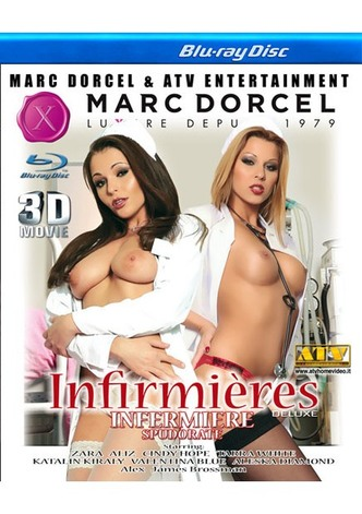 Infirmieres Deluxe - True Stereoscopic 3D Blu-ray Disc