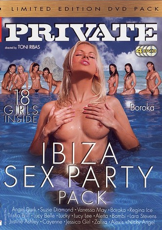 Limited Edition - Ibiza Sex Party - 4 Disc Set