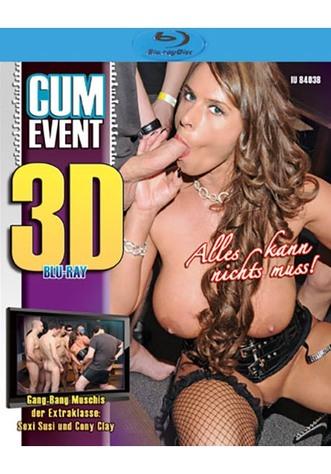 Cum Event: Alles kann nichts muss! - True Stereoscopic 3D Blu-ray Disc