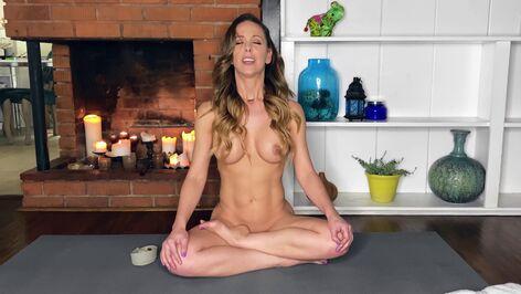 Stars Nude Yoga Sitzung Jpg