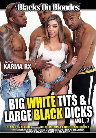 Big White Tits & Large Black Dicks 7