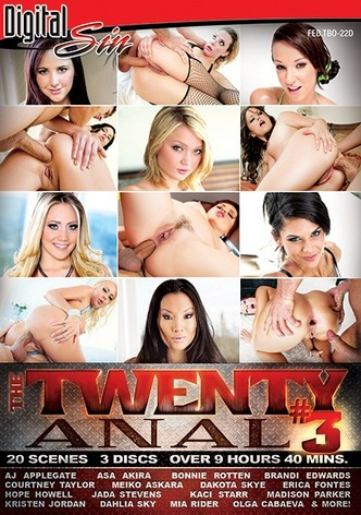 The Twenty: Anal 3 - 3 Disc Set