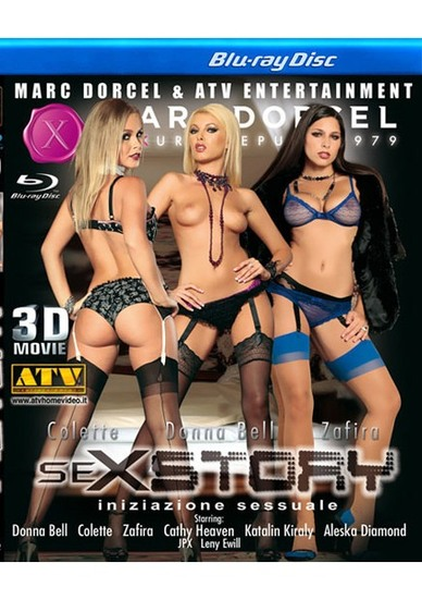 Sexstory - True Stereoscopic 3D Blu-ray Disc