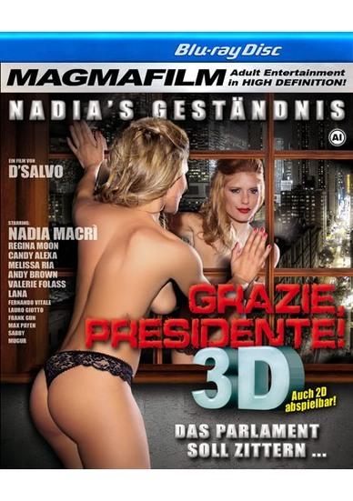 Grazie, Presidente! - True Stereoscopic 3D Blu-ray Disc