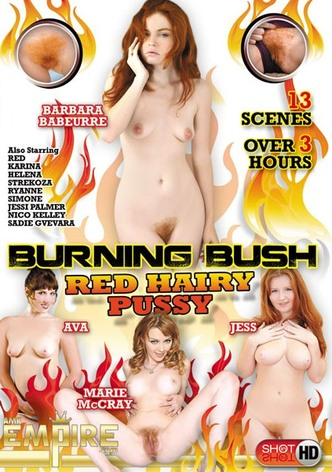 Burning Bush: Red Hairy Pussy