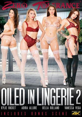 Oiled In Lingerie 2