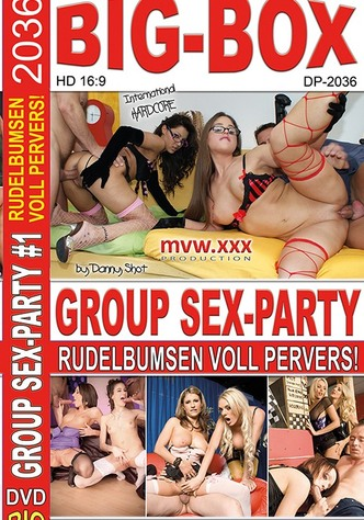 Group Sex-Party - 4 DVD Big-Box