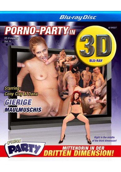 3D Fickparty Teil 11 - True Stereoscopic 3D Blu-ray Disc